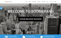 Шаблон: Boomerang - MultiPurpose Template