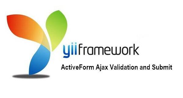 How to send a form to yii2 and skeeks cms via ajax?