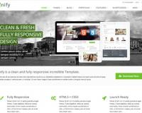 Шаблон: Unify - Responsive Website Template